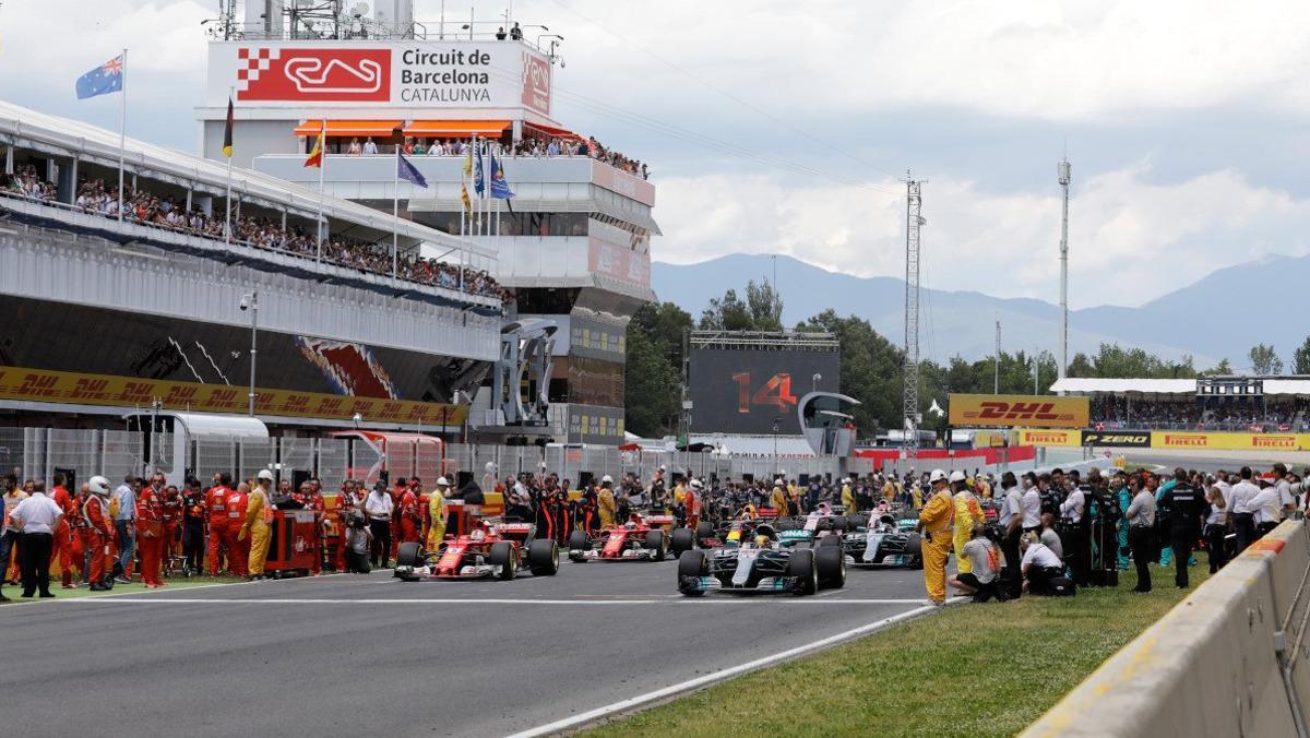 Horarios GP España F1 2018