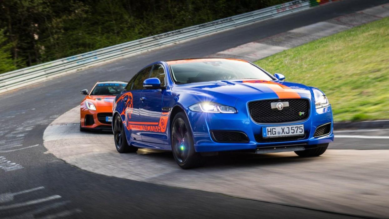 Jaguar Race Taxi Nürburgring