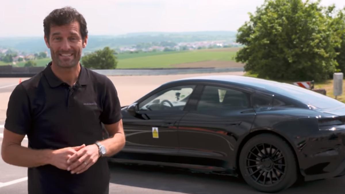 Mark Webber te vende la burra del Mission E