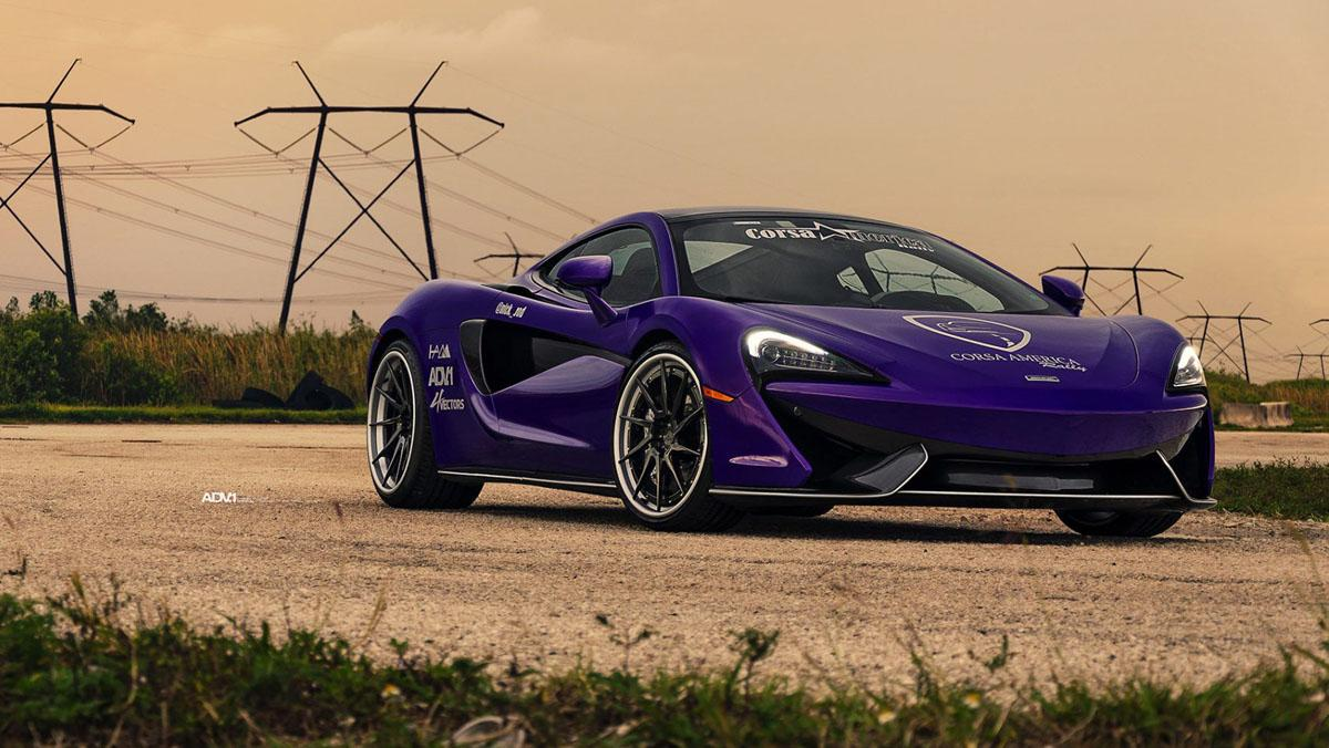 McLaren 570GT Corsa Rally Purple