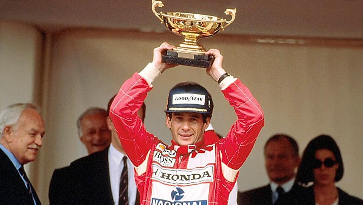Mónaco 1993: Sexta victoria de Senna en Montecarlo