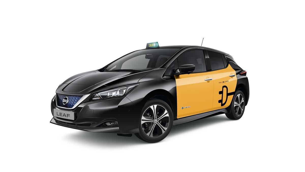 Nuevo Nissan Leaf taxi