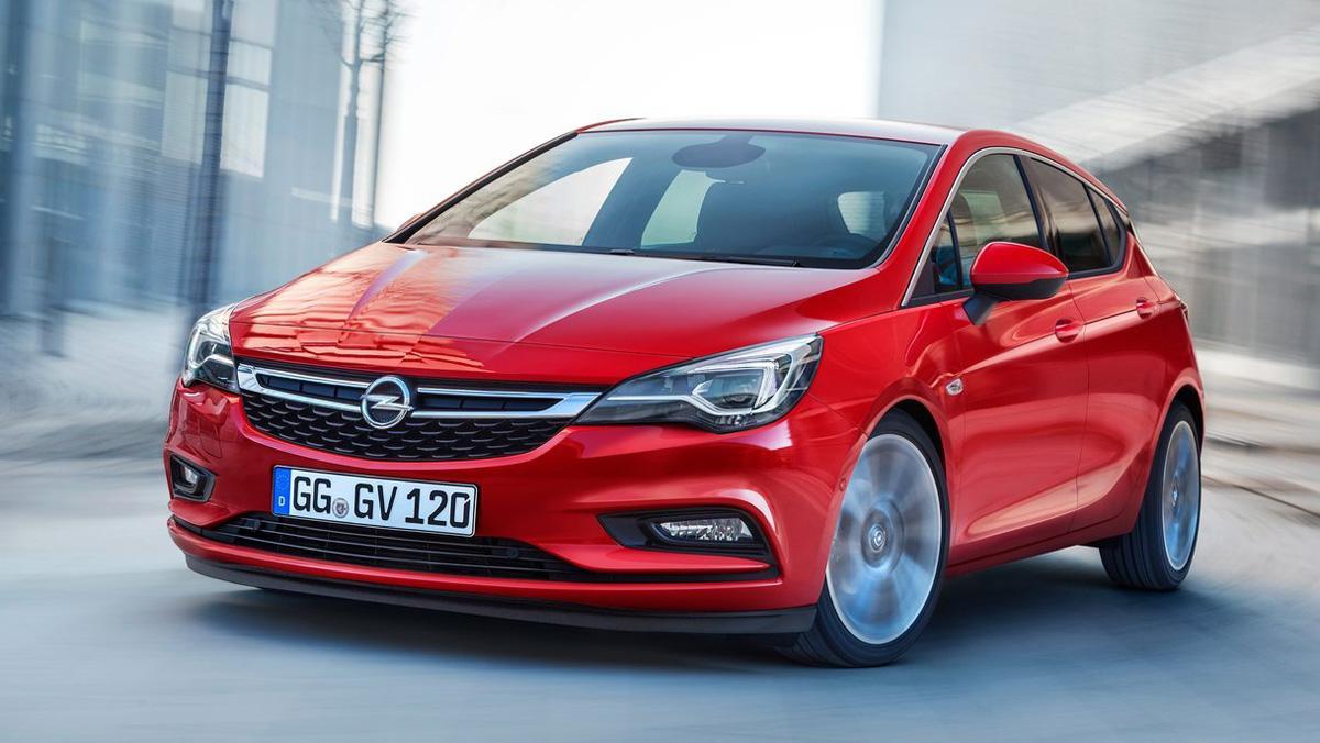 Opel Astra 2018