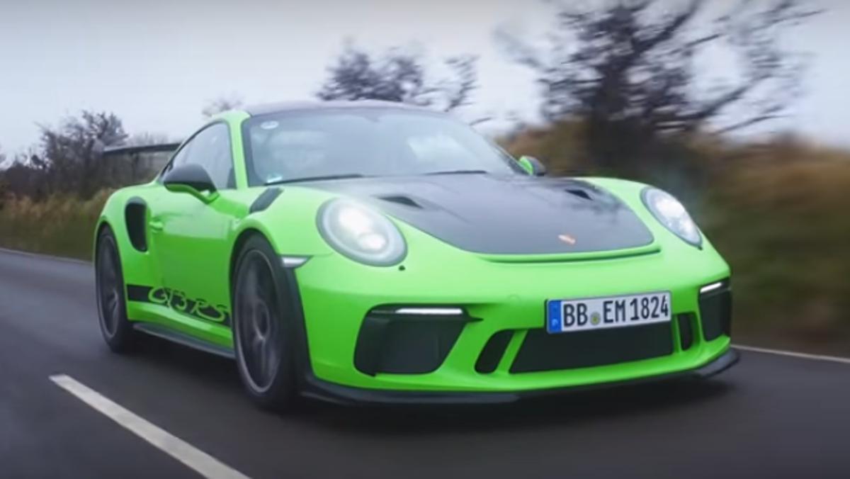 Porsche 911 GT3 RS en Isla de Man