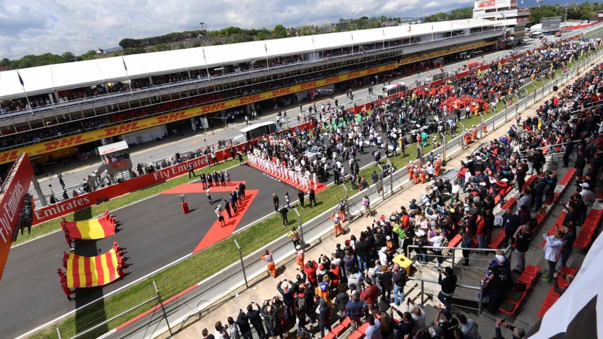 Pre parrilla F1 España