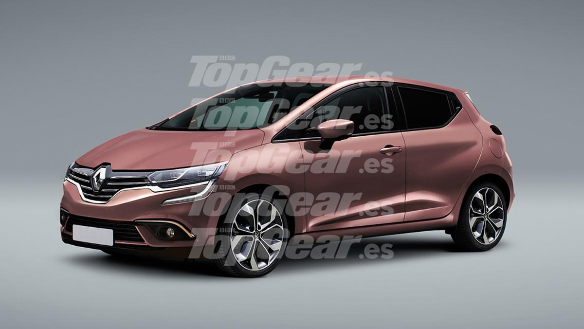 Renault Clio 2019 render