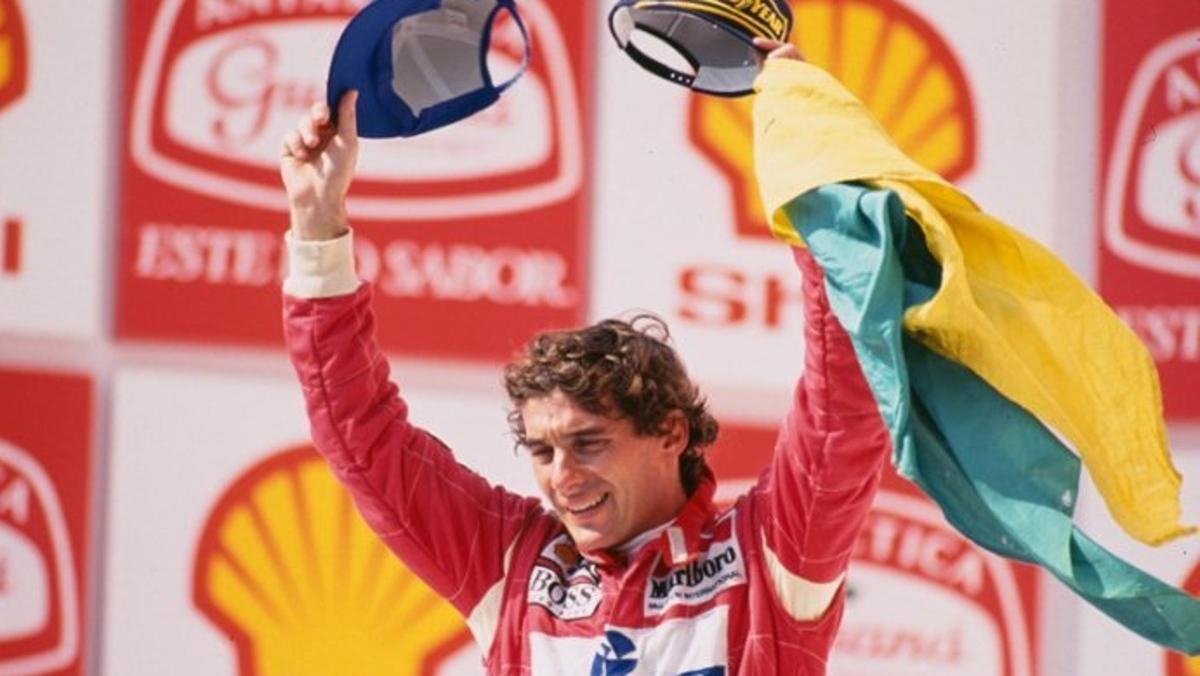 Senna en Interlagos 1993