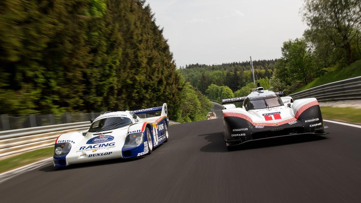 Vídeo: Porsche 919 Hybrid y 956 C en Nürburgring