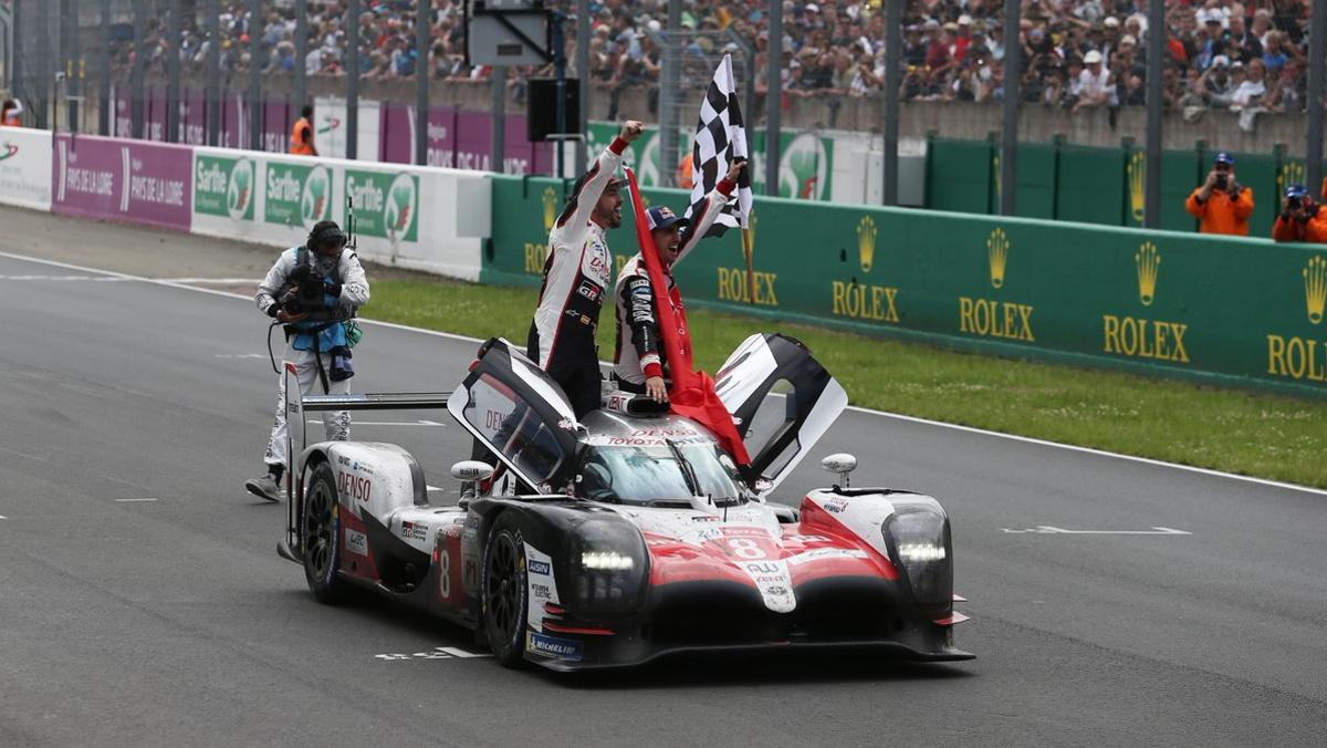 Alonso victoria Toyota 24 Horas Le Mans