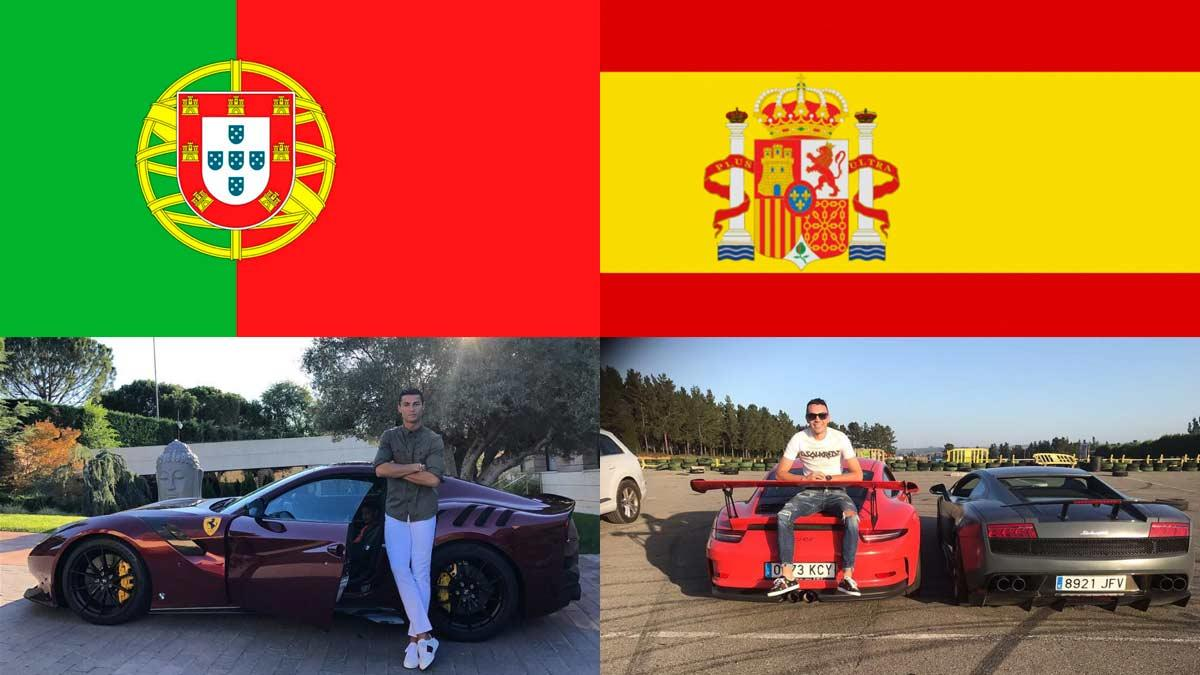 Cristiano Ronaldo Iago Aspas futbol futbolistas famosos