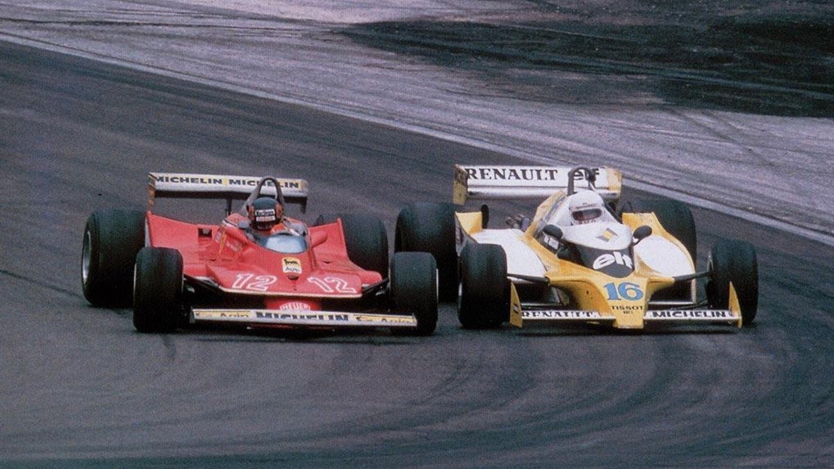 GP Francia F1 1979: Villeneuve vs Arnoux