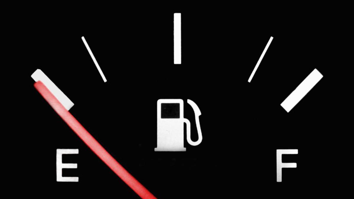 Indicador del depósito de combustible