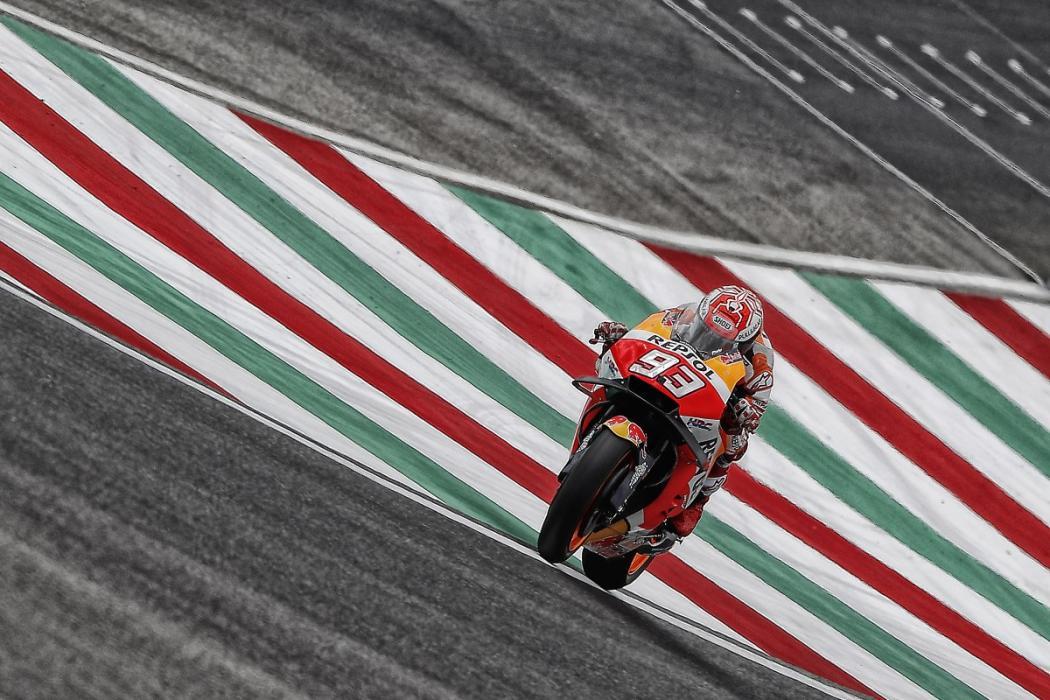 Marc Márquez se pone al frente los Libres 3 MotoGP Mugello 2018