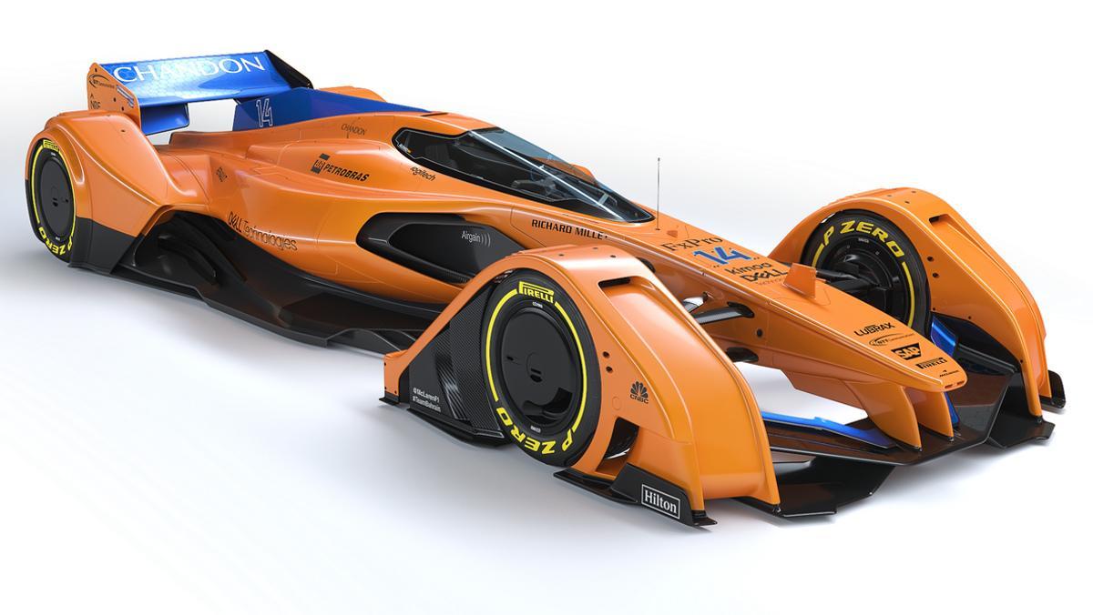 McLaren X2, el futuro monoplaza inglés ya está aquí