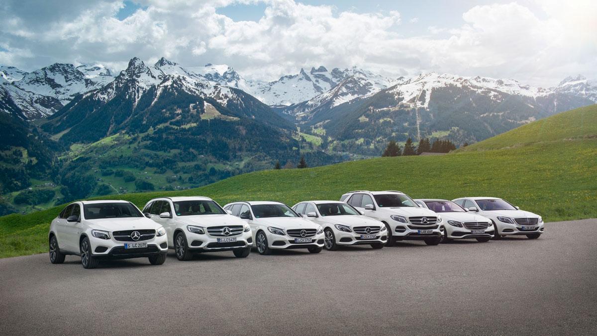 Mercedes híbridos gama