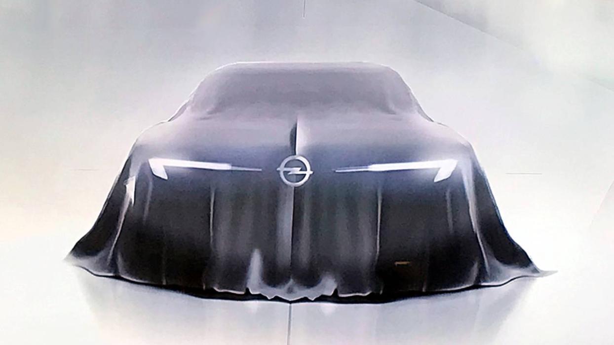 Nuevo Opel GT concept