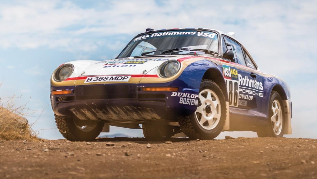 Un Porsche 959 del Rallye París-Dakar, a subasta