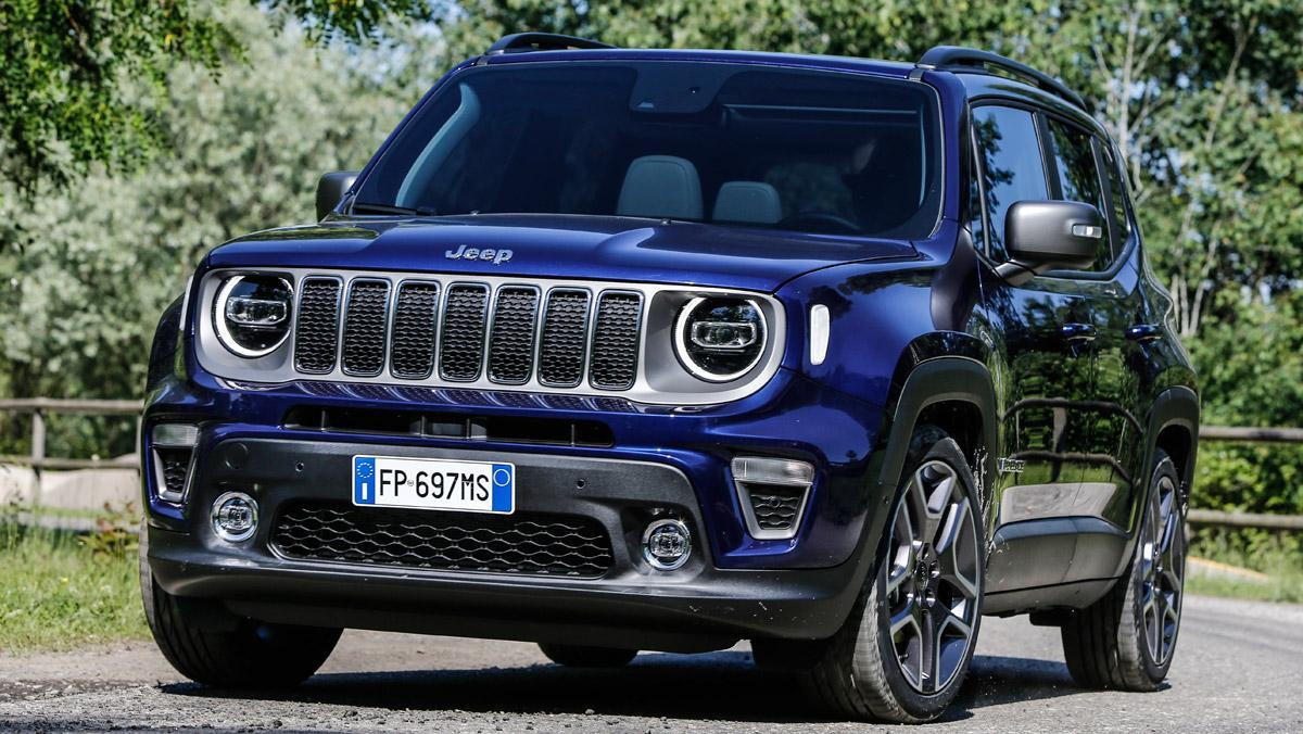 Prueba Jeep Renegade 2019 (delantera)