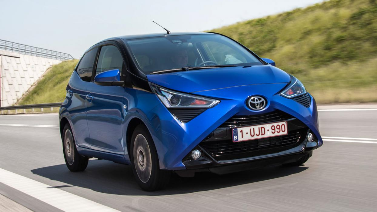 prueba del toyota aygo 2018. Black Bedroom Furniture Sets. Home Design Ideas