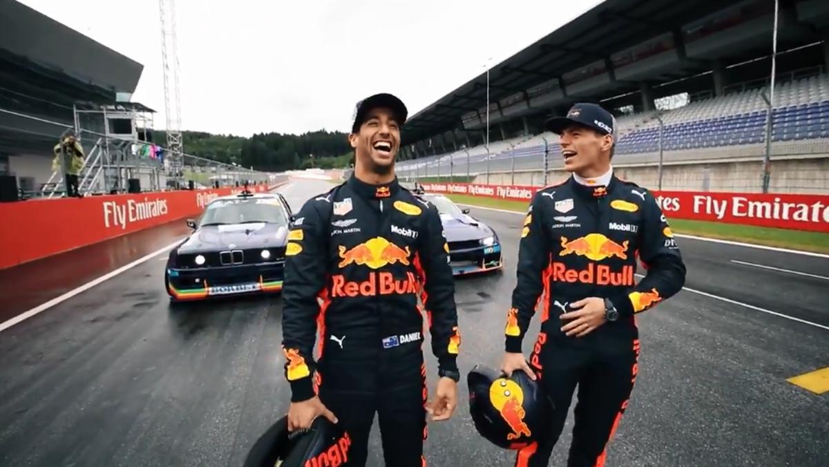 Ricciardo y Verstappen, los 'drifting brothers'