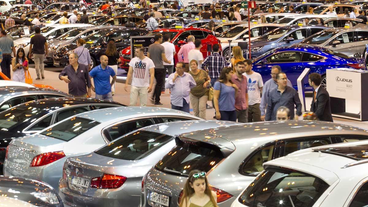 segunda mano comercial coches exposición