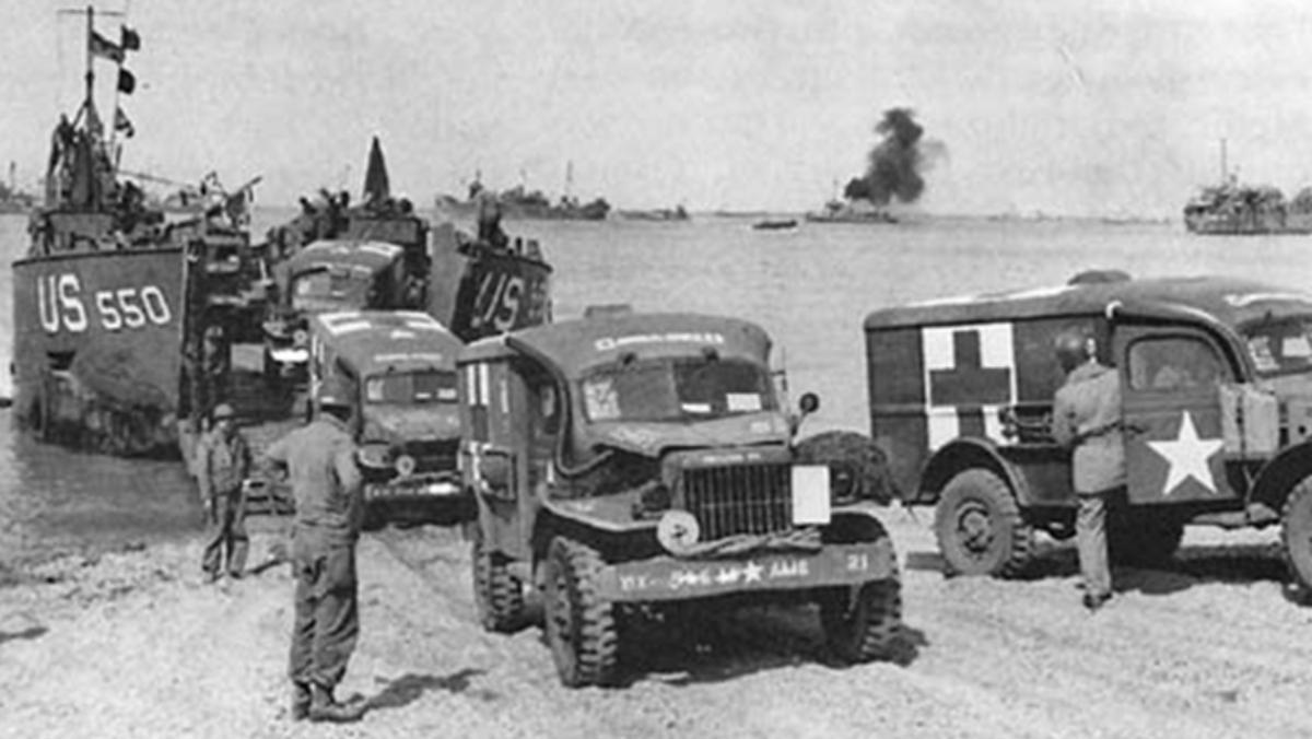 Los vehículos del Desembarco de Normandía