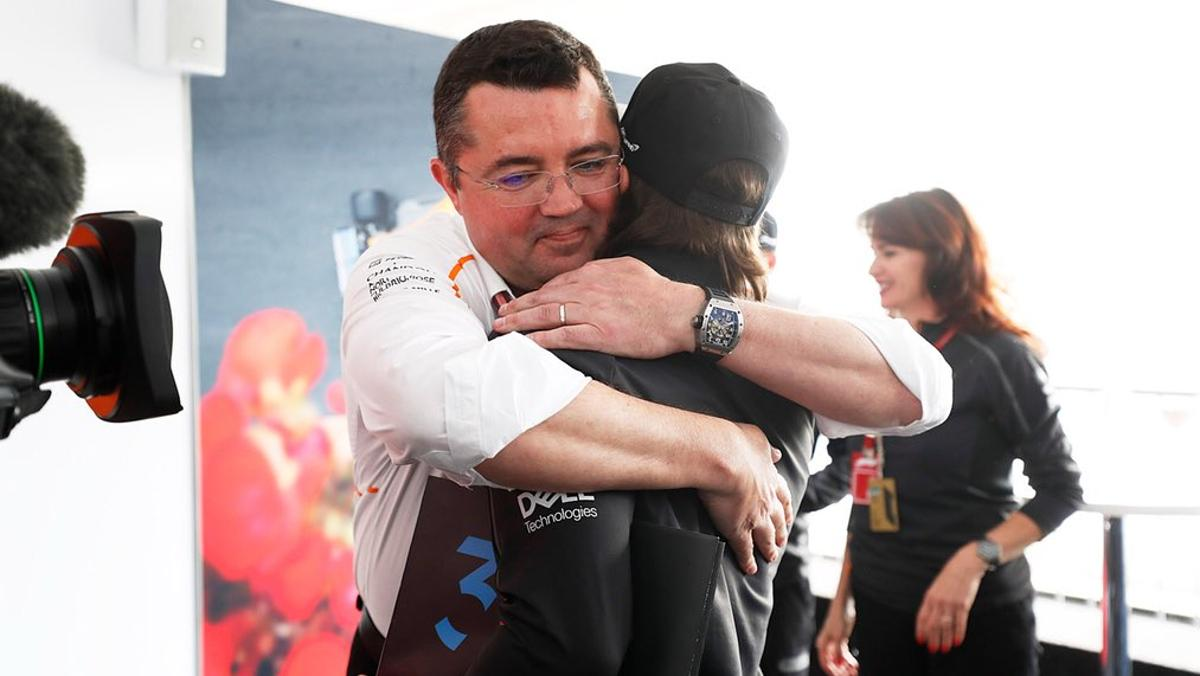 El adiós de Eric Boullier en McLaren F1