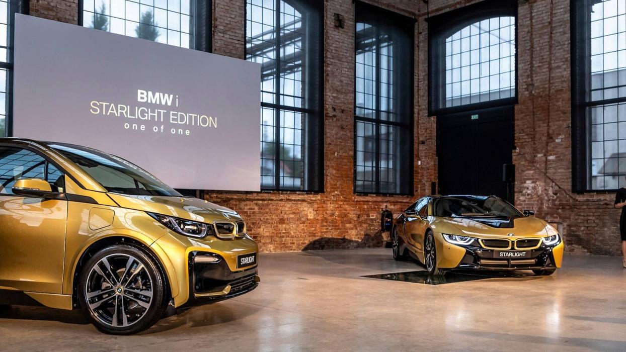 BMW i3 y el BMW i8 Starlight Edition