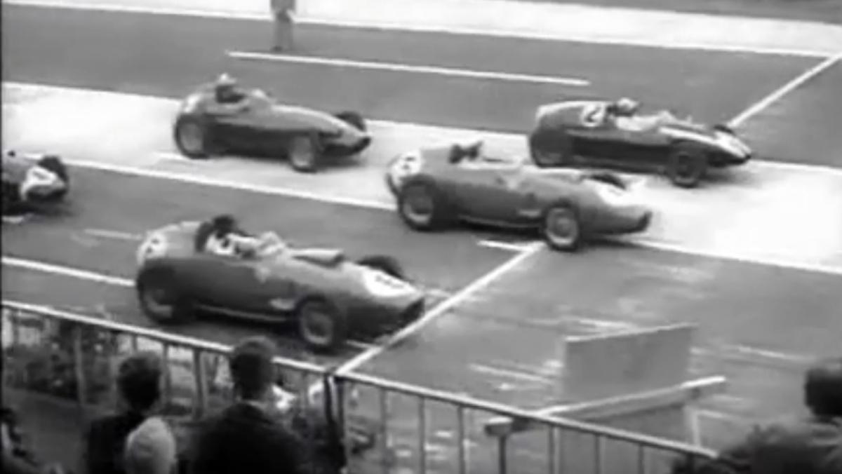 La carrera de F1 a dos mangas