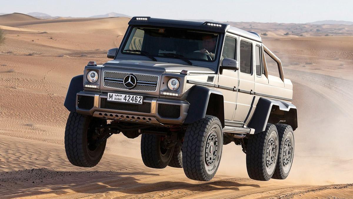 Los coches que más se han revalorizado en menos tiempo - Mercedes-AMG G63 6x6