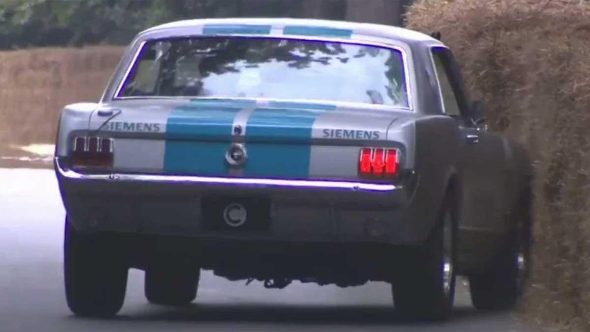 Mustang autónomo Goodwood