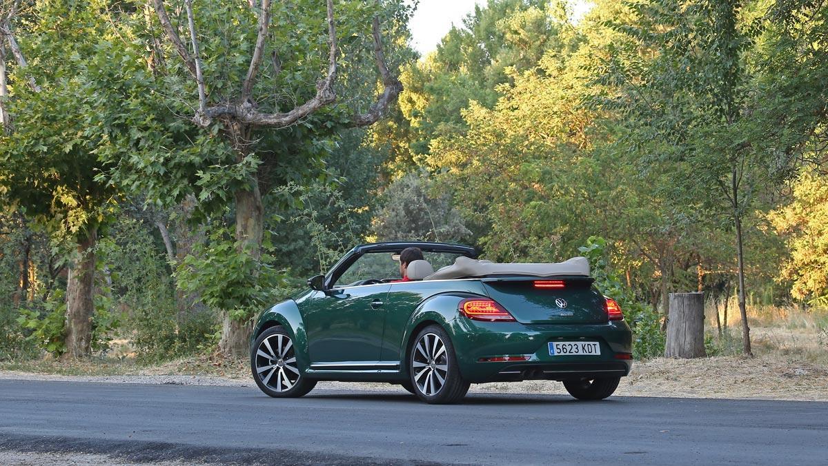 Prueba Volkswagen Beetle Cabrio (trasera)