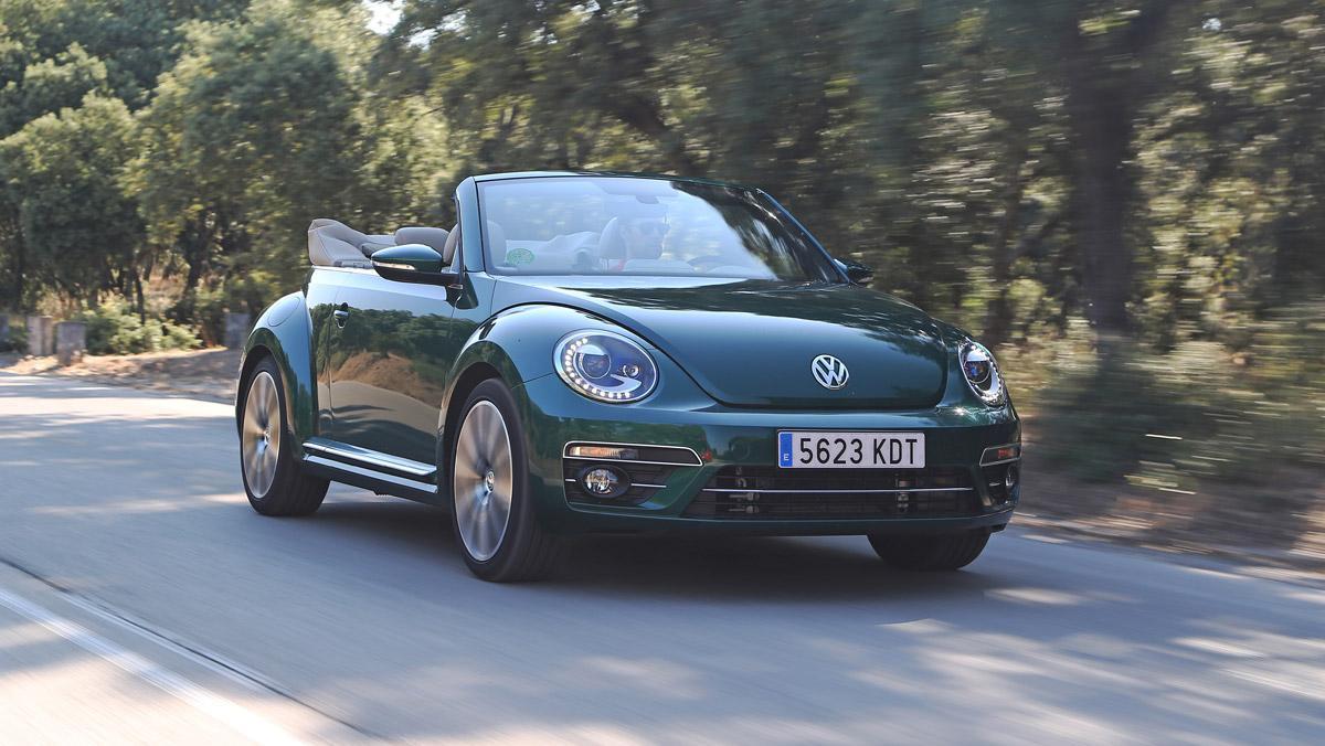 Prueba Volkswagen Beetle Cabrio