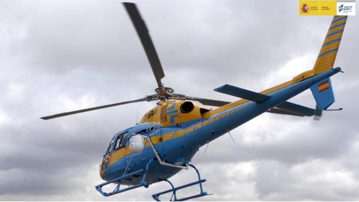 lo que le cuesta a la dgt el helicóptero pegasus