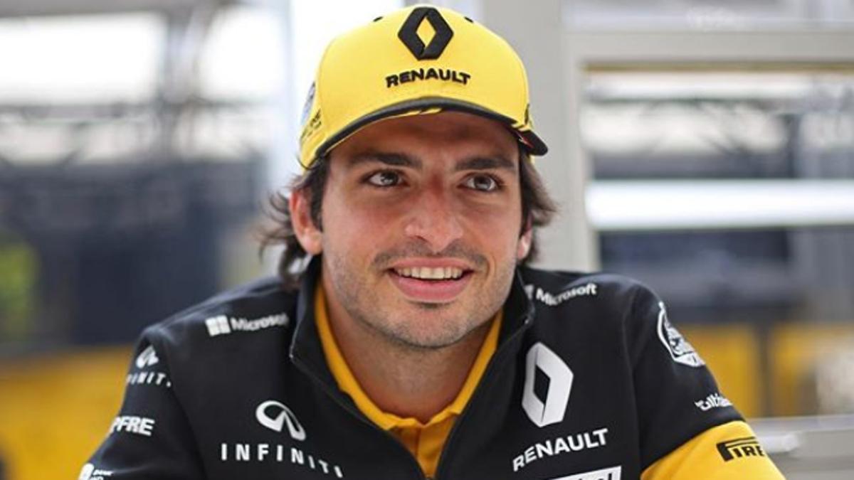 Renault anunciará en Spa si Sainz sigue en 2019