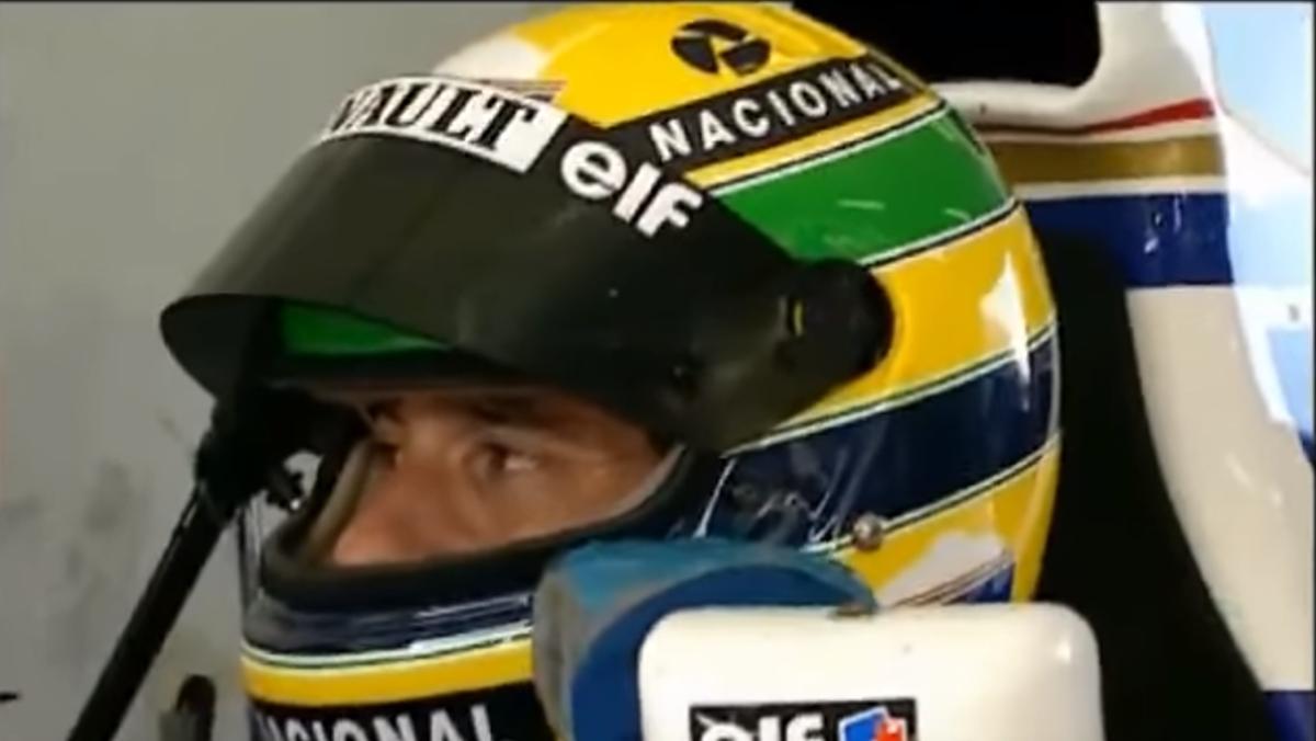 Goodwood subasta casco Ayrton Senna test Williams Paul Ricard 1994