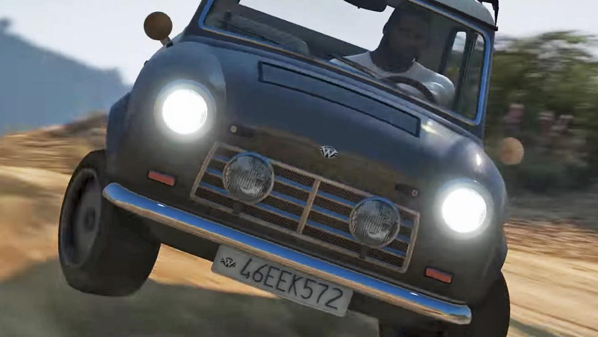 El tráiler de Forza Horizon 4 recreado en GTA V