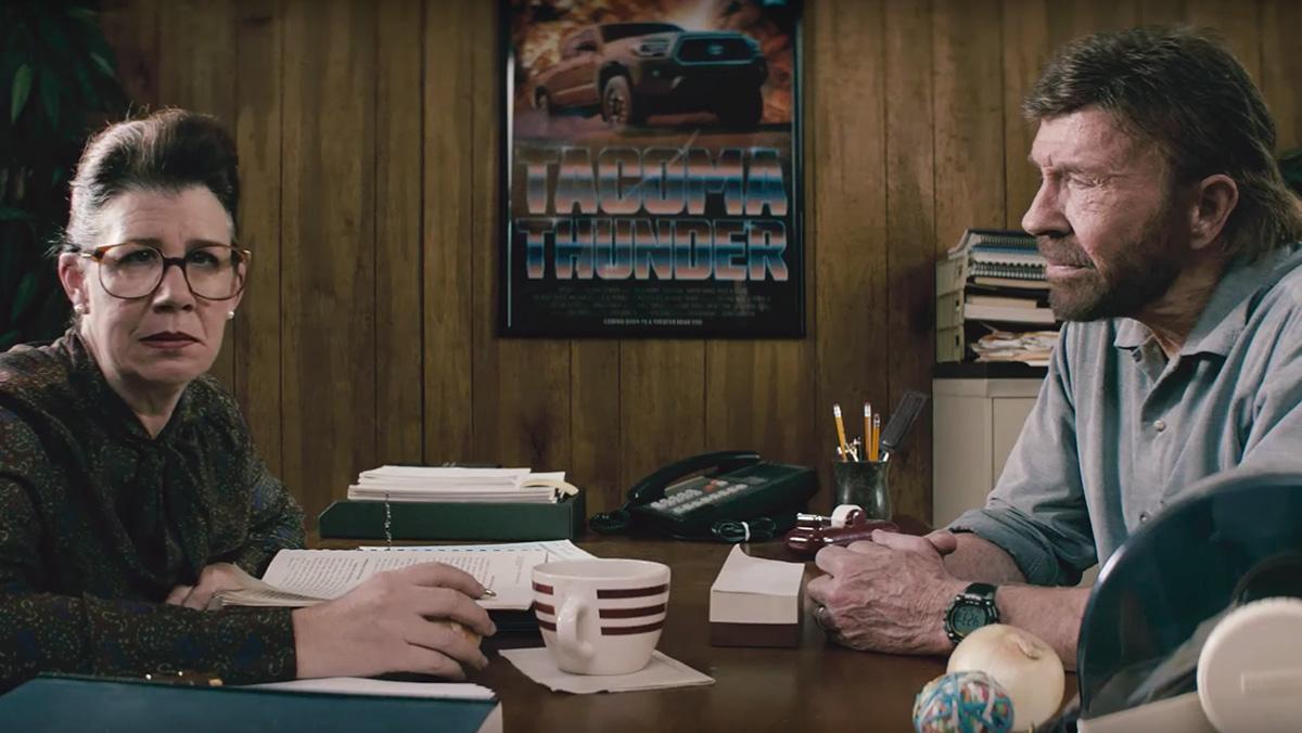 El anuncio de Toyota con Chuck Norris