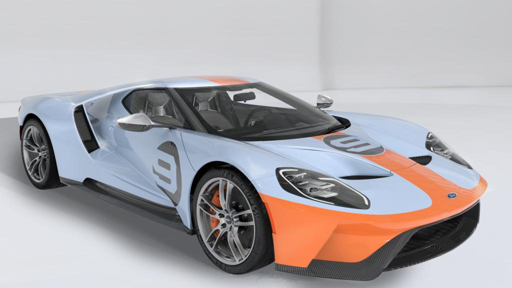 Ford GT Heritage Edition 2019
