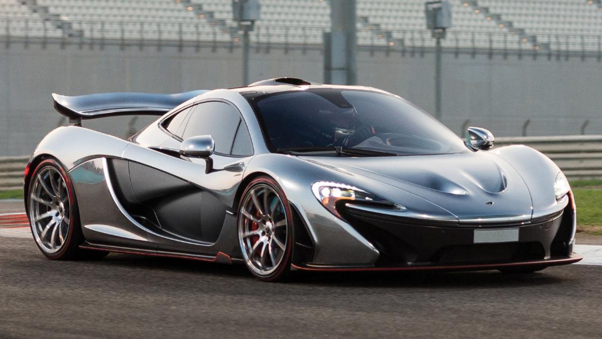 Subasta McLaren P1 Silver Liquid