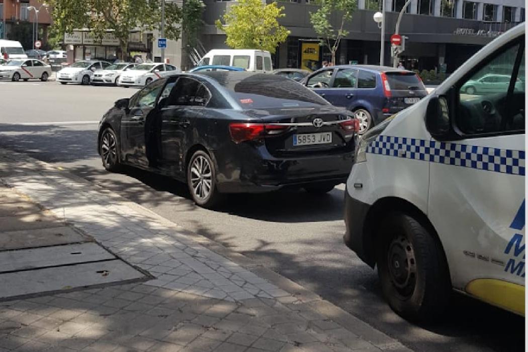Tensión VTC taxi
