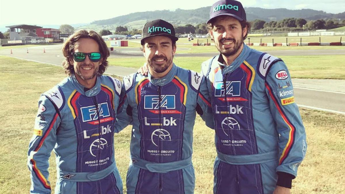 Alonso se impone en las 6 Horas de Karting en Asturias
