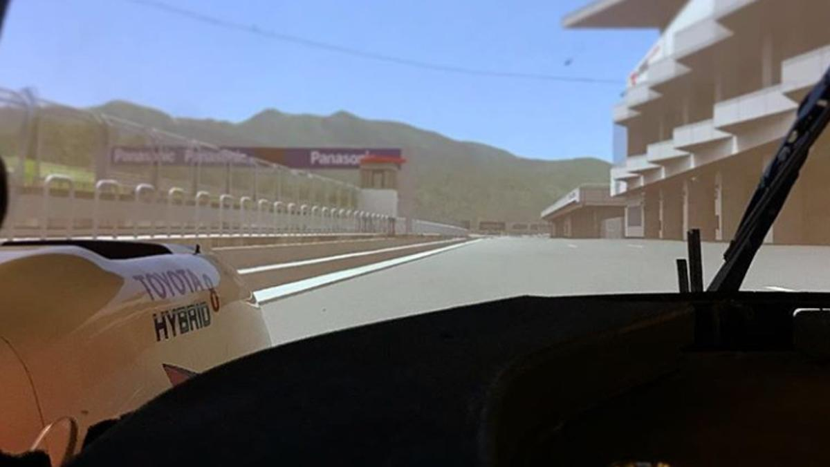 Alonso, en el simulador de Toyota-WEC