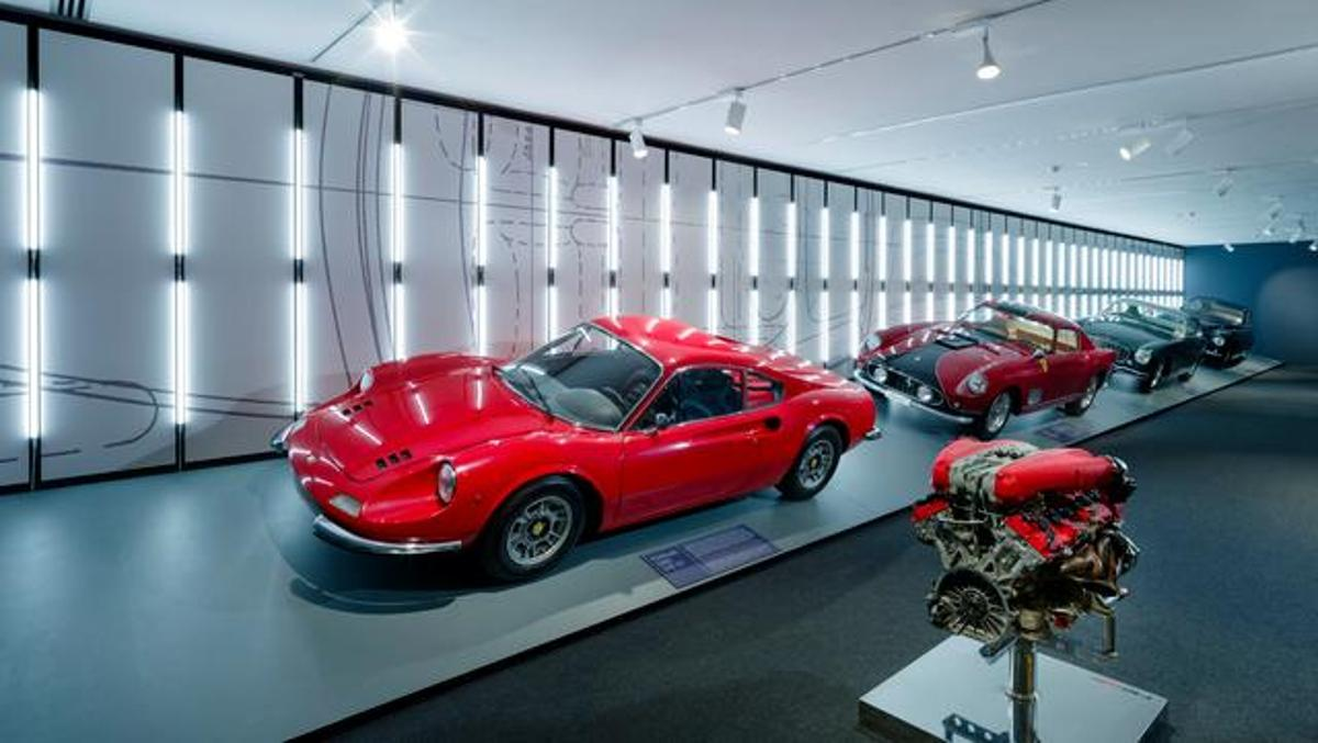 Driven by Enzo y Passion and Legend, exposiciones de Ferrari