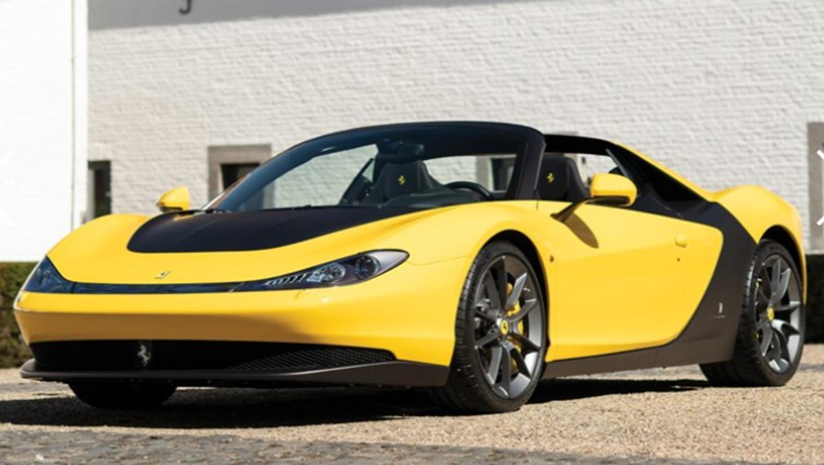 Ferrari Sergio, en venta