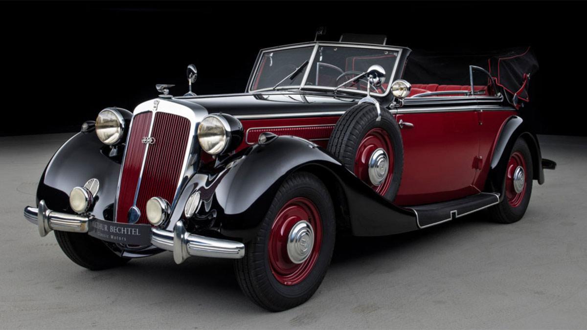 lujo cabriolet clasico alemania