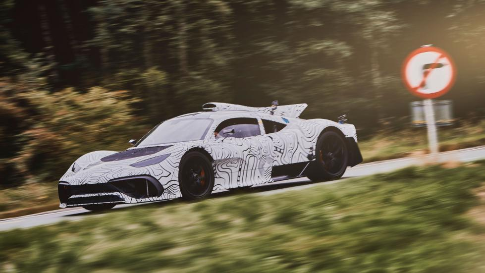Mercedes-AMG Project One prototipo