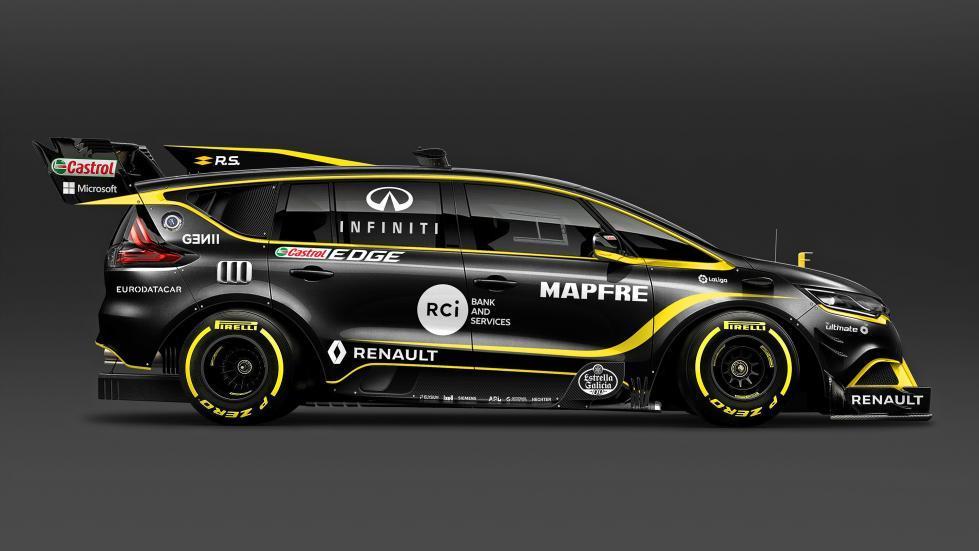 Renault Espace F1 2018