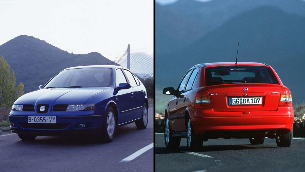 Seat Leon Mk1 vs Opel Astra G