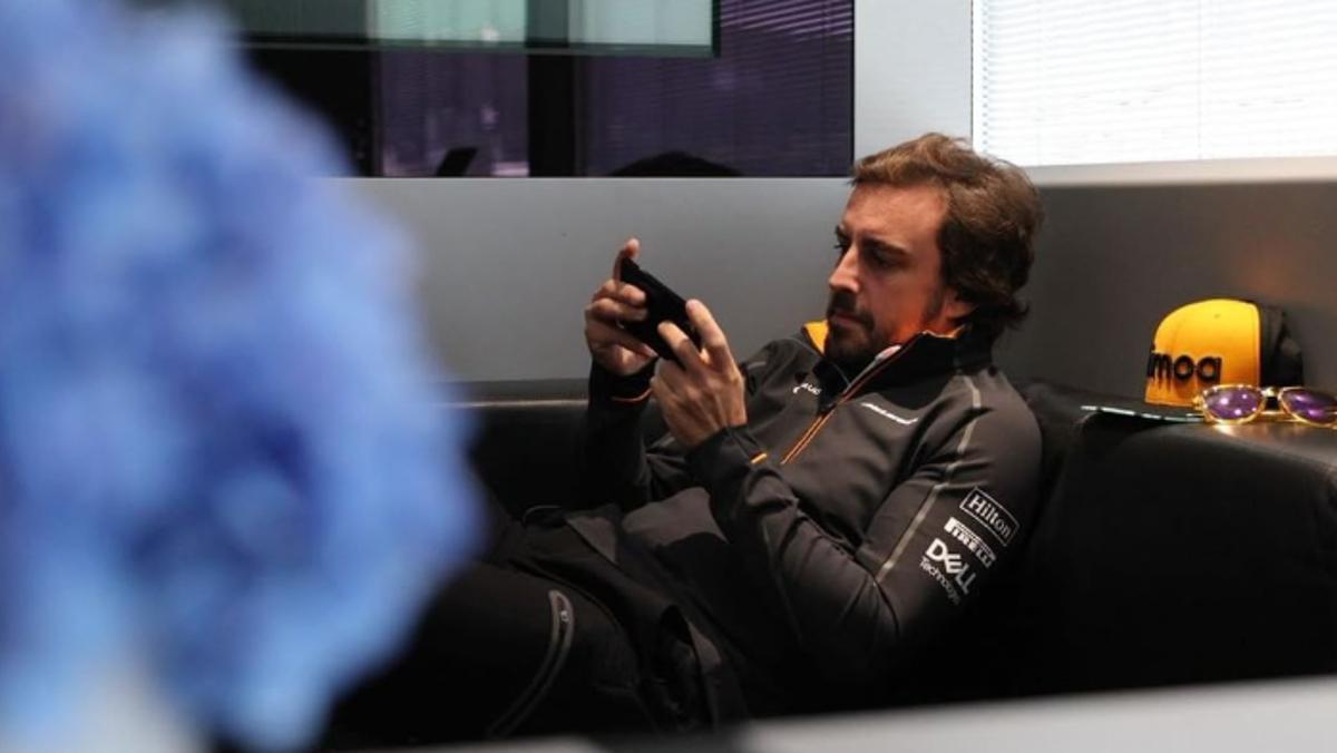 Vídeo de McLaren con Alonso y NASCAR